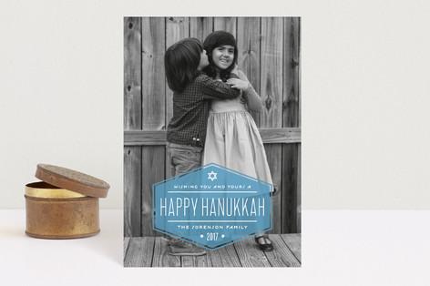 Label Hanukkah Petite Cards