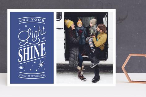 Let your light shine Hanukkah Cards