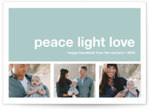 Modern Joy Hanukkah Cards
