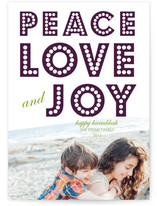 float + peace Hanukkah Cards