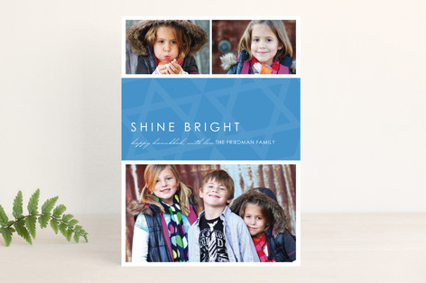 Perfect Star Hanukkah Cards