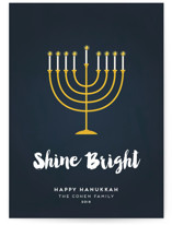 Shine Bright Menorah