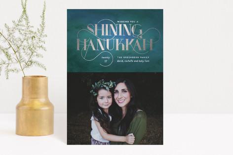 Shining Wishes Hanukkah Postcards