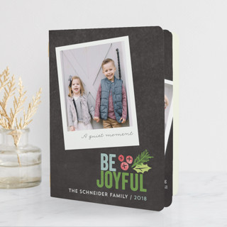 Family Snapshots Holiday Booklette Cards