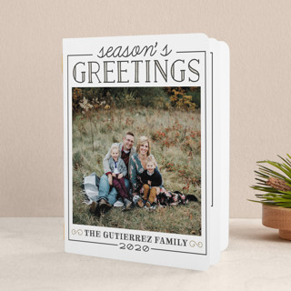 Seasonal Update Holiday Booklette Cards
