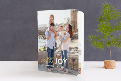 With Joy Holiday Booklette Cards