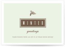Bark and Mint Business Holiday Cards