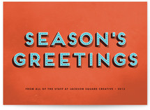Bold Charm Business Holiday Cards