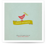 Put a Bird on It Business Holiday Cards