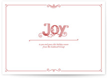 Sweet Joy Business Holiday Cards