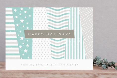 Patchwork Business Holiday Cards