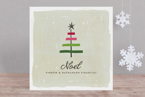 Ribbon Tree Business Holiday Cards