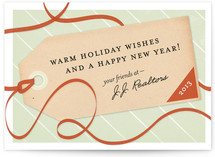 Greeting Tag Business Holiday Cards