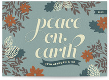 Winter Peace Business Holiday Cards