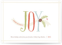 Joy &amp; Felicity Business Holiday Cards