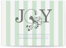 Joyful Bird Business Holiday Cards