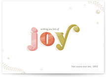 Bright &amp; Bold Business Holiday Cards