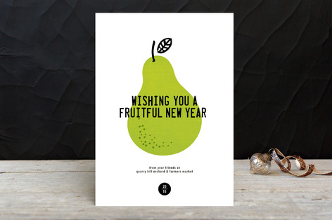 Fruitful Business Holiday Cards