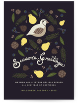 Seasons of Greens Business Holiday Cards