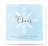 Snow &amp; Sunshine Business Holiday Cards