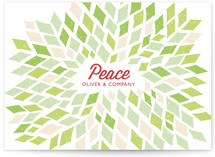 Burst Business Holiday Cards