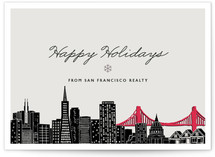 Big City - San Francisco Business Holiday Cards