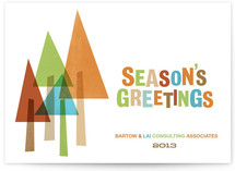 The Evergreens Business Holiday Cards