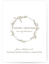 Festoon Business Holiday Cards