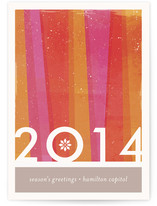 Beaming Business Holiday Cards