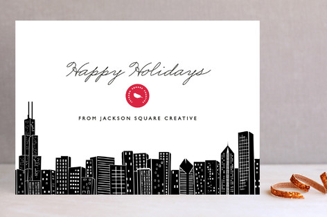 Big City - Chicago Business Holiday Cards