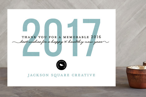 Print year business holiday cards by snow and ivy minted print year business holiday cards reheart Image collections