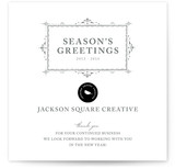 Vintage Frame Business Holiday Cards