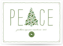 Arbor Peace Business Holiday Cards