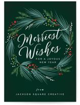 merriest holiday wreath