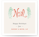 Antique Noel Business Holiday Cards
