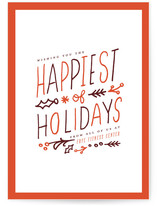 Happiest Wish Business Holiday Cards