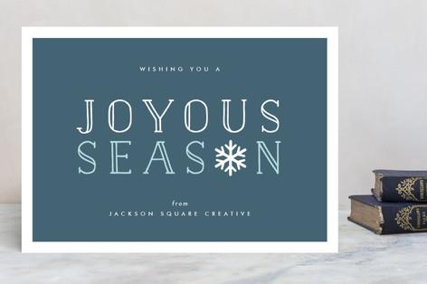 Joyous Season Business Holiday Cards