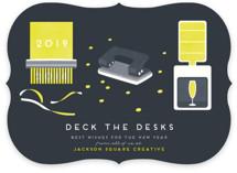 Deck the desks