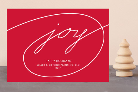Wrapped in Joy Business Holiday Cards