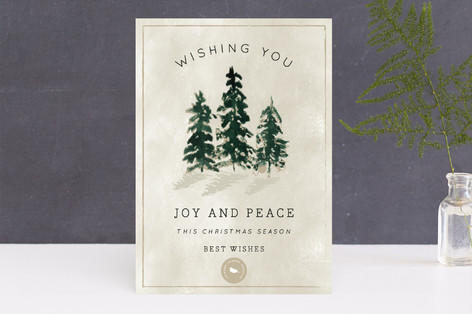 Forest of Pines Business Holiday Cards