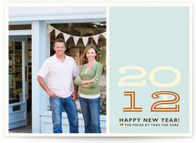 Hip New Year Business Holiday Cards