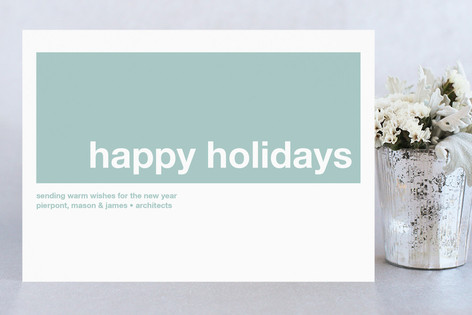 modern joy business holiday cards - Modern Holiday Cards