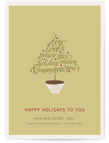 Joyful Tree Business Holiday Cards