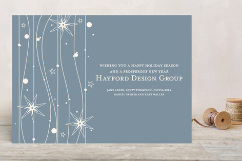 Twilight Stars Business Holiday Cards