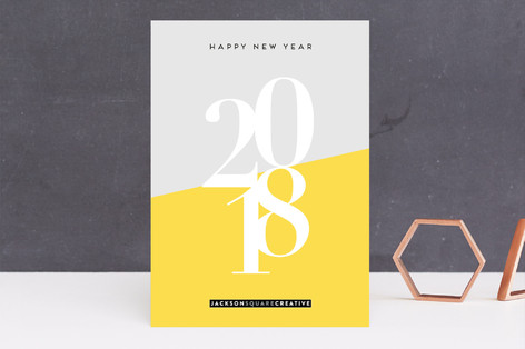Bright New Year Business Holiday Cards