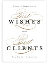 Best Wishes for the Best Clients
