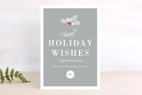happy holiday wishes business holiday cards by kim minted