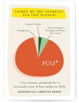 Thankful Pie Chart by J. Dario Design Co.