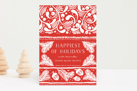 Nordic Winter Business Holiday Cards