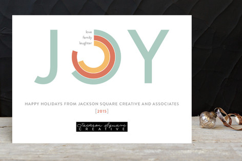 Joy Facts Business Holiday Cards